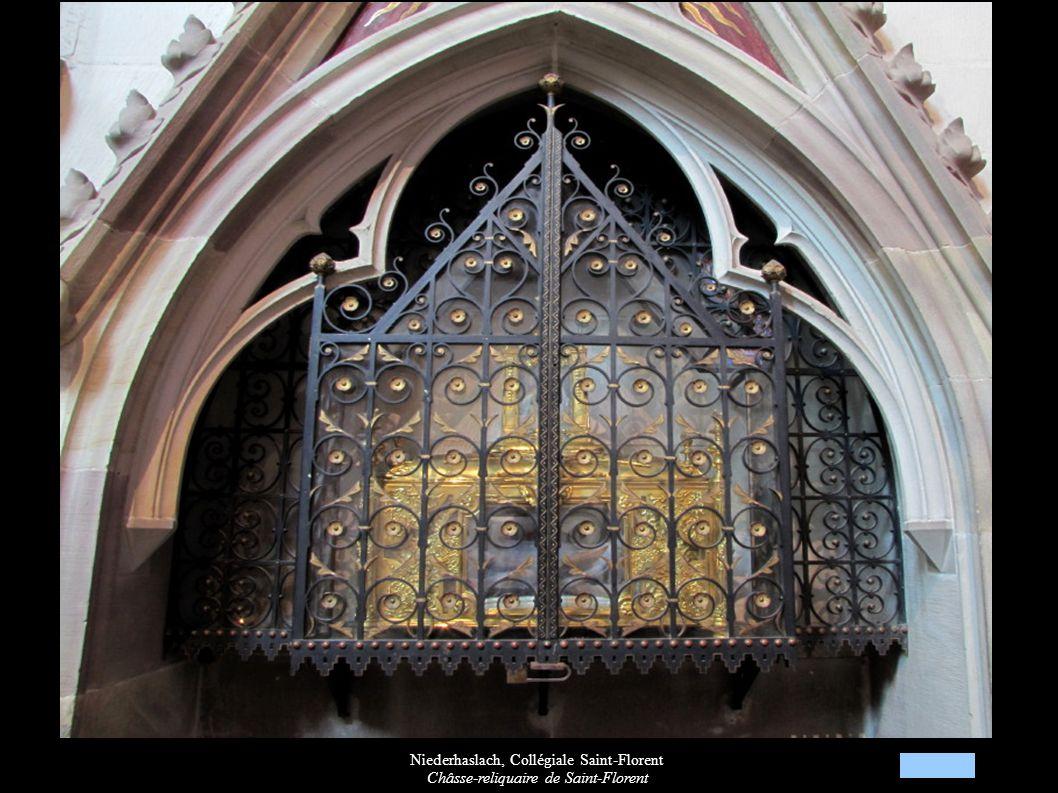 Niederhaslach, Collégiale Saint-Florent Châsse-reliquaire de Saint-Florent