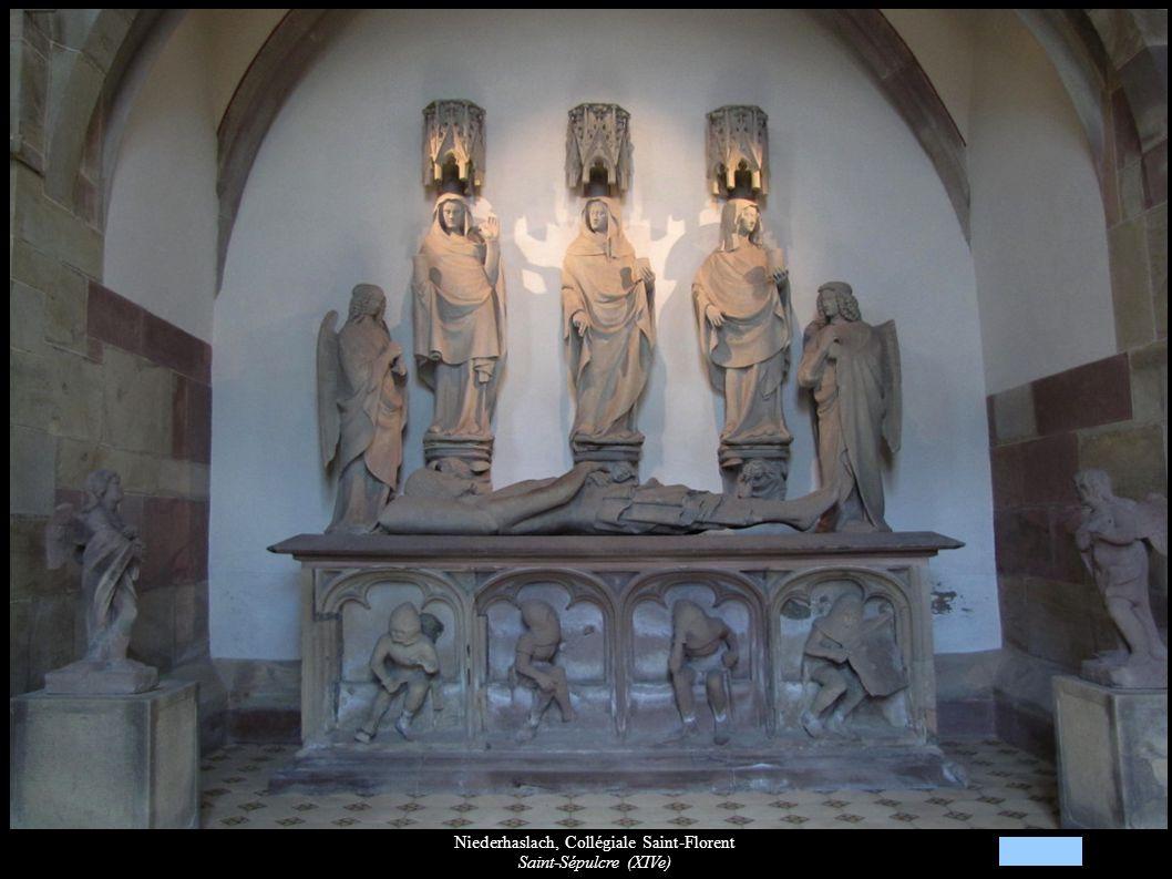 Niederhaslach, Collégiale Saint-Florent Saint-Sépulcre (XIVe)