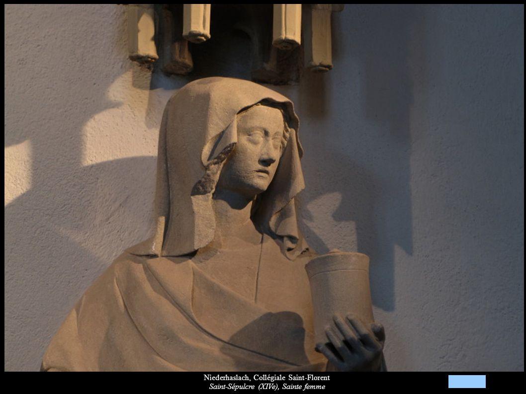 Niederhaslach, Collégiale Saint-Florent Saint-Sépulcre (XIVe), Sainte femme