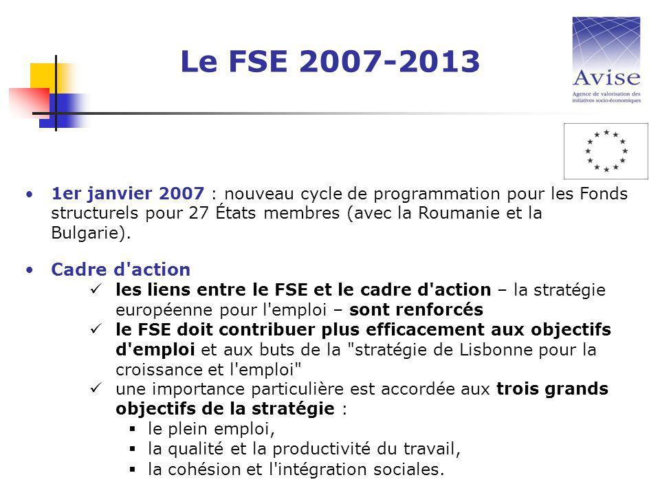 1er janvier 2007 : nouveau cycle de programmation pour les Fonds structurels pour 27 États membres (avec la Roumanie et la Bulgarie).