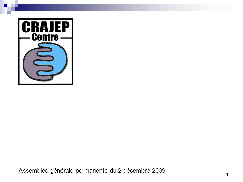 1 Assemblée générale permanente du 2 décembre 2009