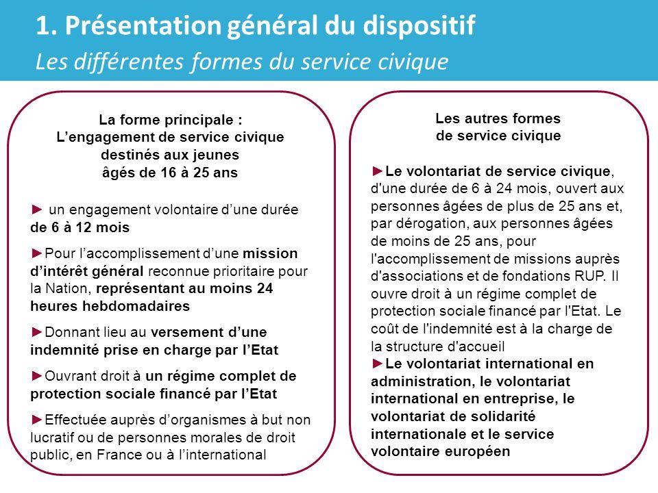 Agence du service civique ► Une agence du service civique va être créée sous la forme d'un GIP (Etat, ACSé, INJEP, France volontaires) L'agence du service civique :  Coordonnera le dispositif : animation, délivrance des agréments, contrôle, évaluation  Sera constituée d'un conseil d'administration, d'un comité stratégique (en 2010 : de 15 à 20 agents composeront l'agence)  S'appuiera sur le réseau des DRJSCS et des DDI pour l'animation la délivrance d'agrément au niveau local, l'évaluation et le contrôle au niveau local ► Le décret du 12 mai 2010 relatif au service civique et l'arrêté du 12 mai 2010 portant approbation de la convention constitutive du groupement d'intérêt public dénommé « Agence du service civique » confèrent à l'Agence sa pleine capacité juridique : le 1 er CA s'est réuni le 18 mai 2010 4.