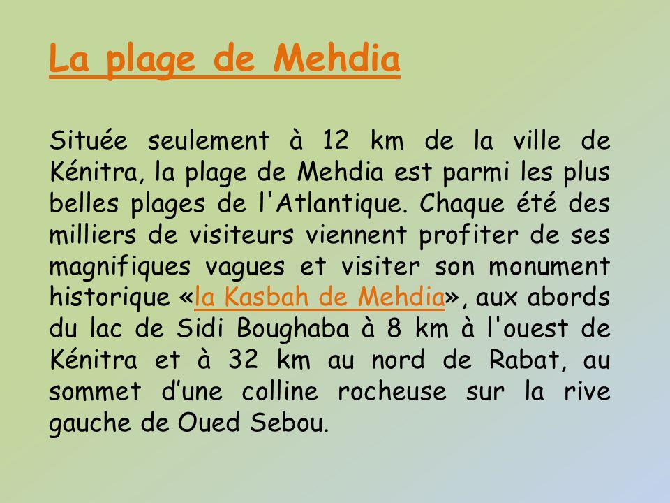 Plage de Mehdia