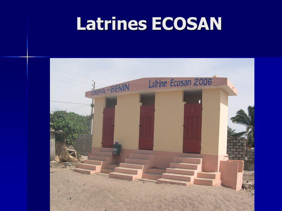 Latrines ECOSAN