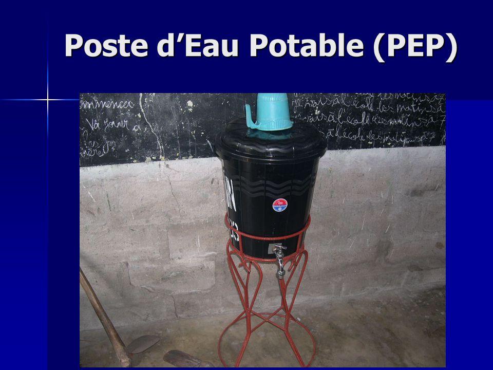 Poste d'Eau Potable (PEP)