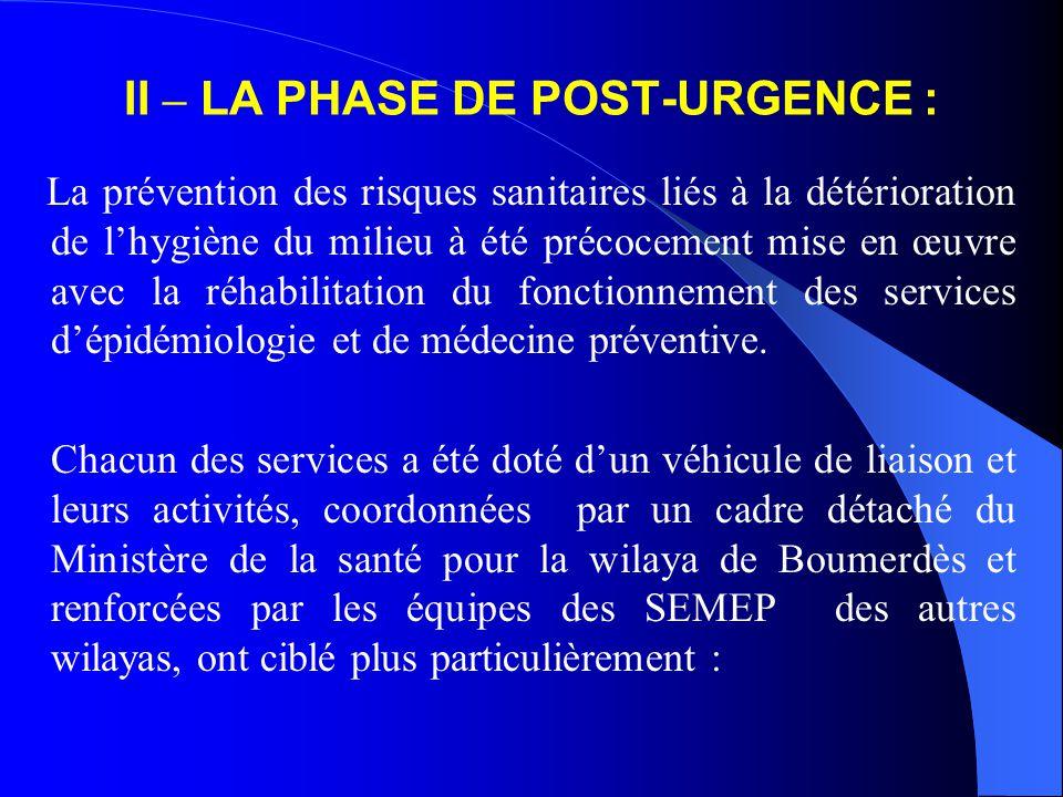  Le Programme élargi de vaccination ( PEV).