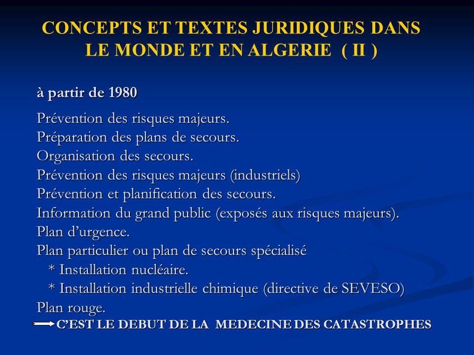 LES INTERVENANTS La protection civile.La protection civile.