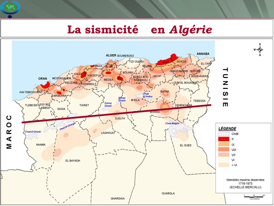14 La sismicité en Algérie