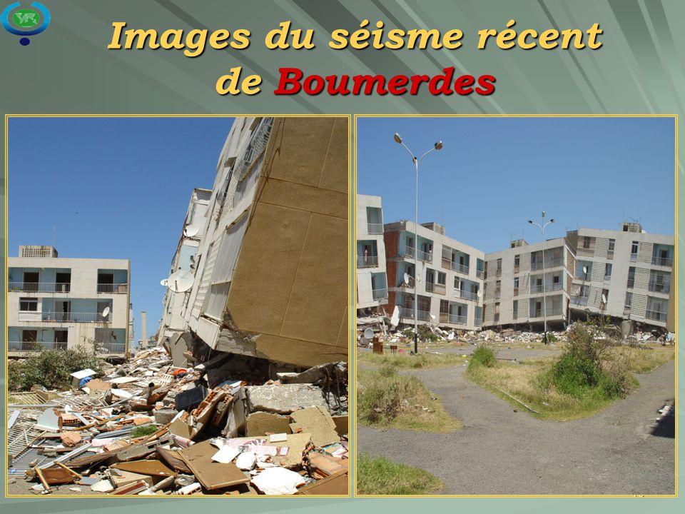 15 Images du séisme récent de Boumerdes