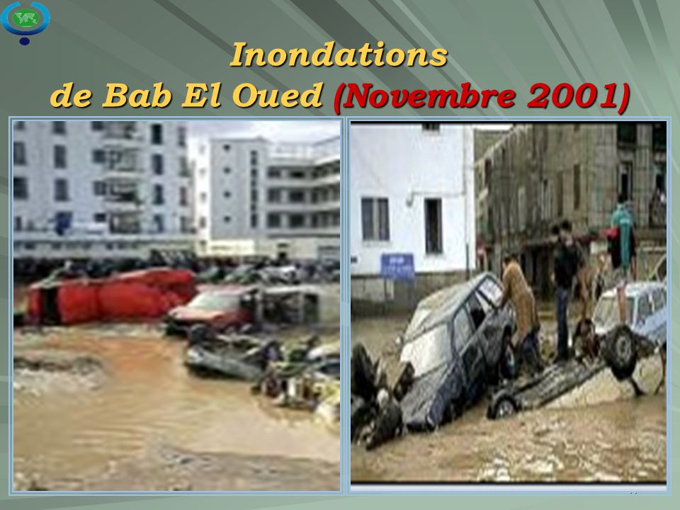 17 Inondations de Bab El Oued (Novembre 2001)