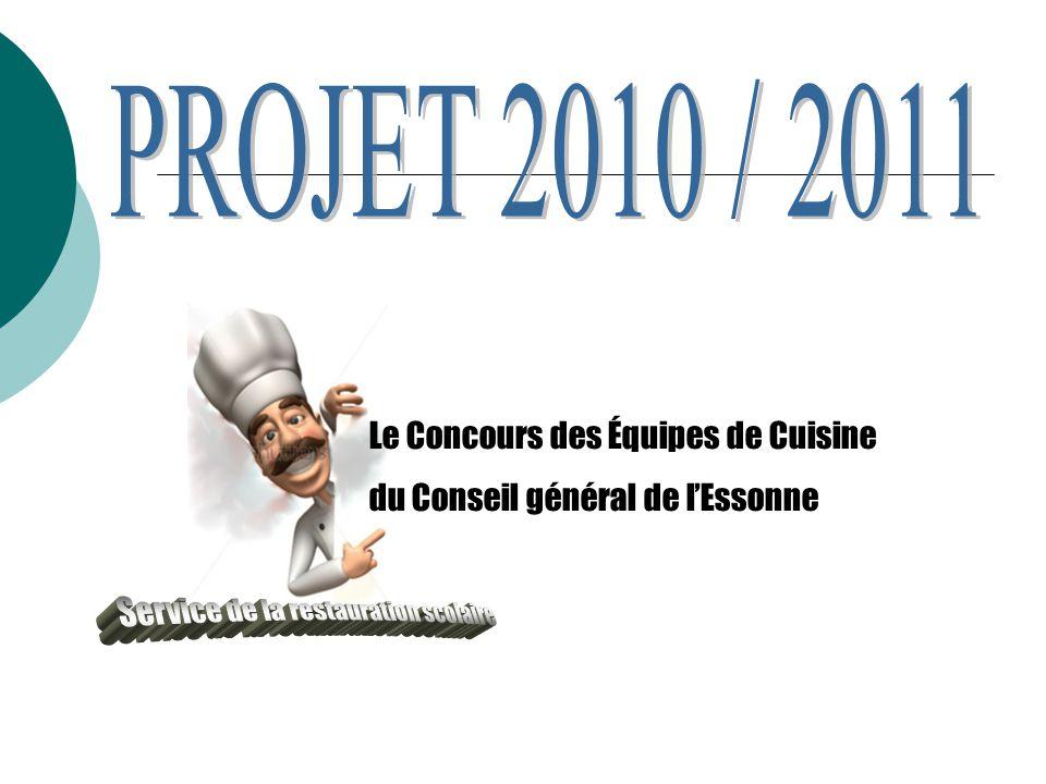 Le Concours des Équipes de Cuisine du Conseil général de l'Essonne