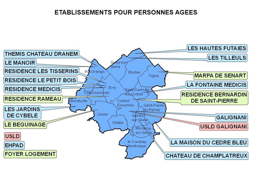 ETABLISSEMENTS POUR PERSONNES AGEES