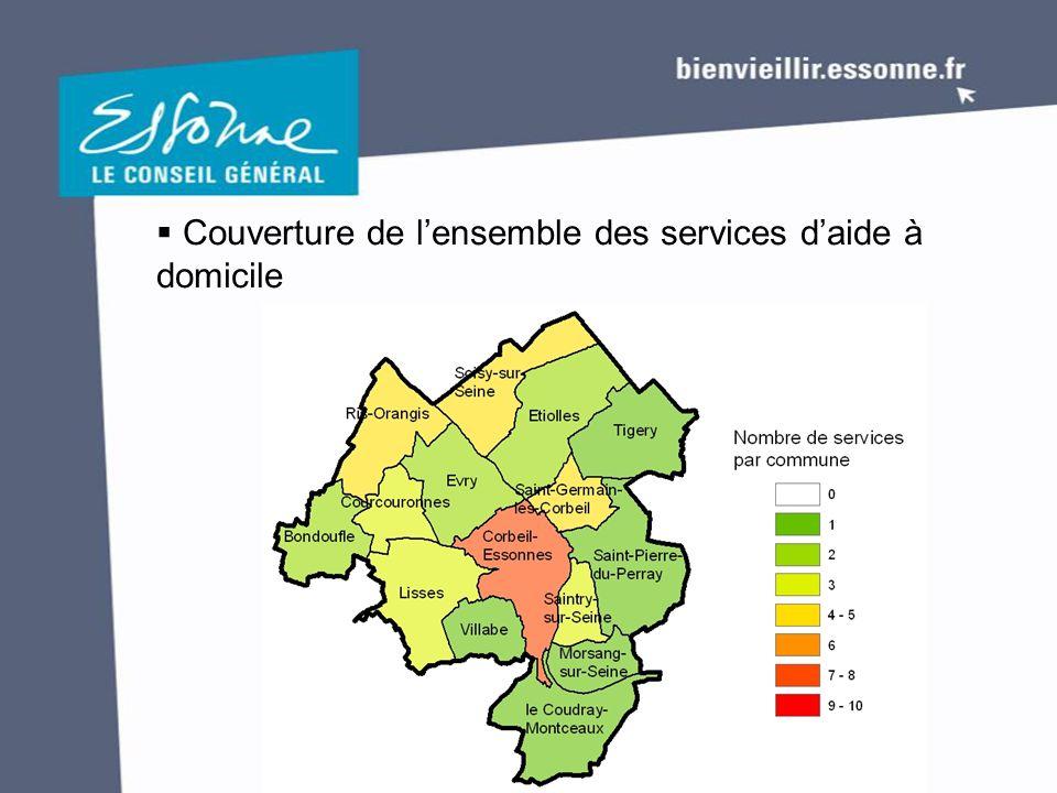  Couverture de l'ensemble des services d'aide à domicile