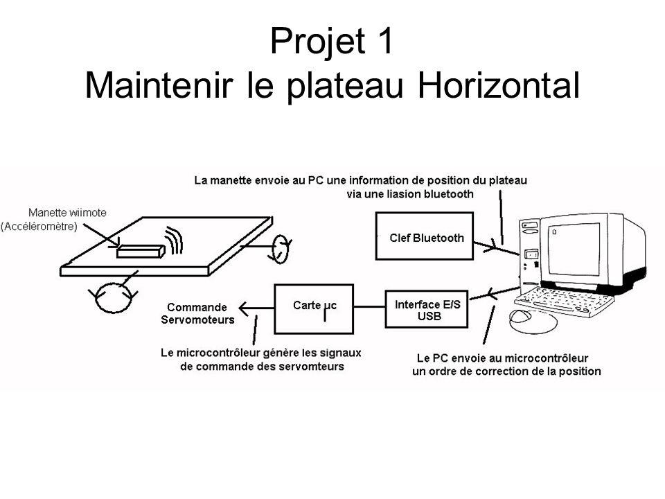 Problématique : Comment maintenir horizontalement une plateforme pour le transport d'un objet par un robot.