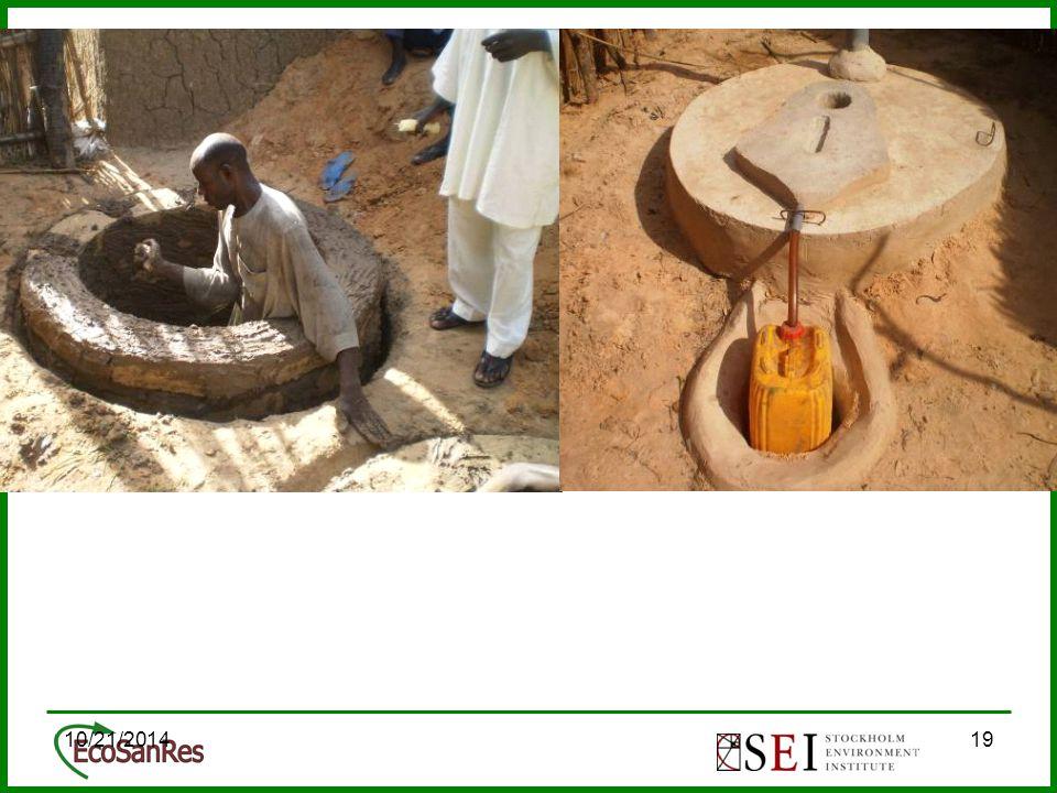 10/21/201419 Des latrines qui facilite le traitement des fèces