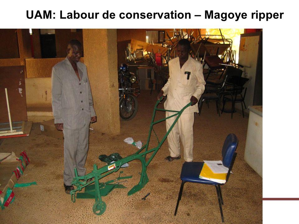 UAM: Labour de conservation – Magoye ripper