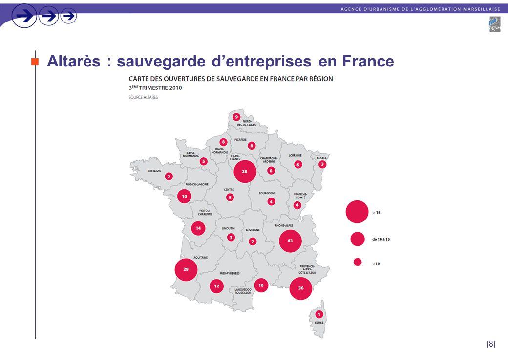[8] Altarès : sauvegarde d'entreprises en France