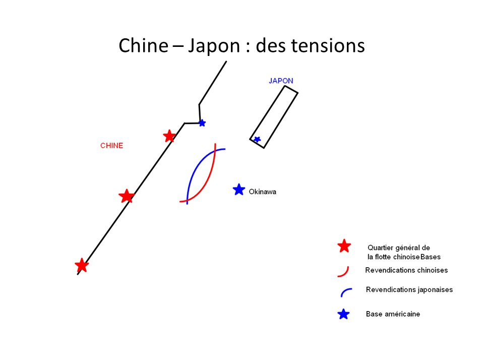 Chine – Japon : des tensions