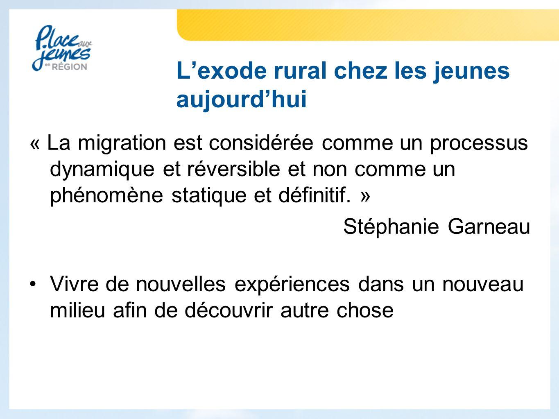 « La migration est considérée comme un processus dynamique et réversible et non comme un phénomène statique et définitif.