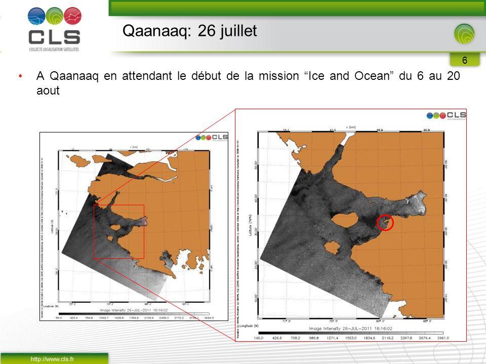 6 A Qaanaaq en attendant le début de la mission Ice and Ocean du 6 au 20 aout Qaanaaq: 26 juillet