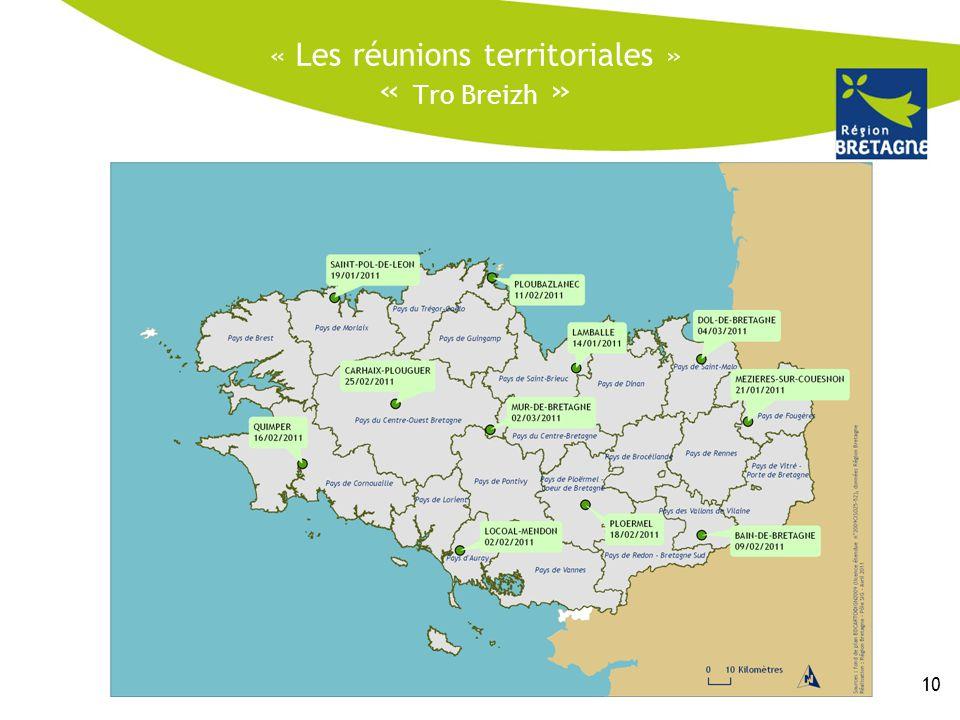« Les réunions territoriales » « Tro Breizh » 10