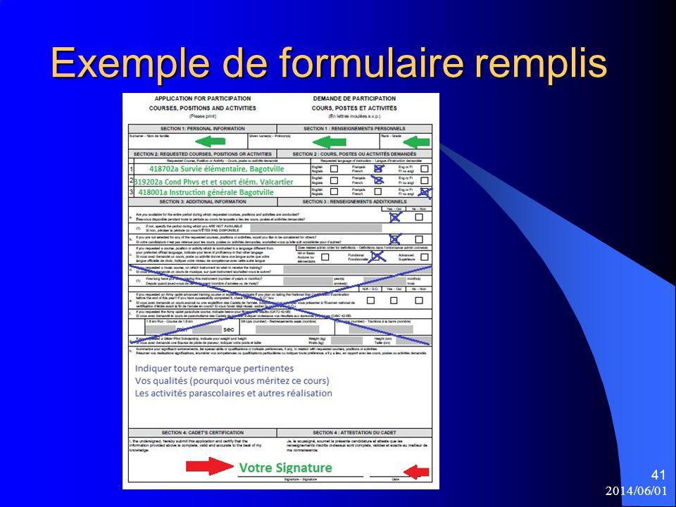 Exemple de formulaire remplis 2014/06/01 41