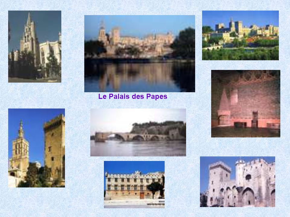 Le Palais des Papes