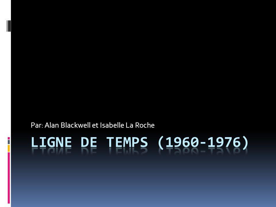 1960 Le début de la révolution tranquille au Québec  Une période de grand changement au Québec.