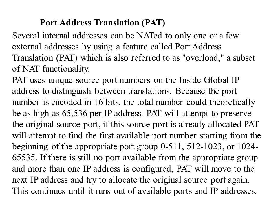Principes Pour accéder à une interface de basse sécurité depuis une interface de sécurité haute utiliser les commandes nat et global (voir exemples qui suivent).