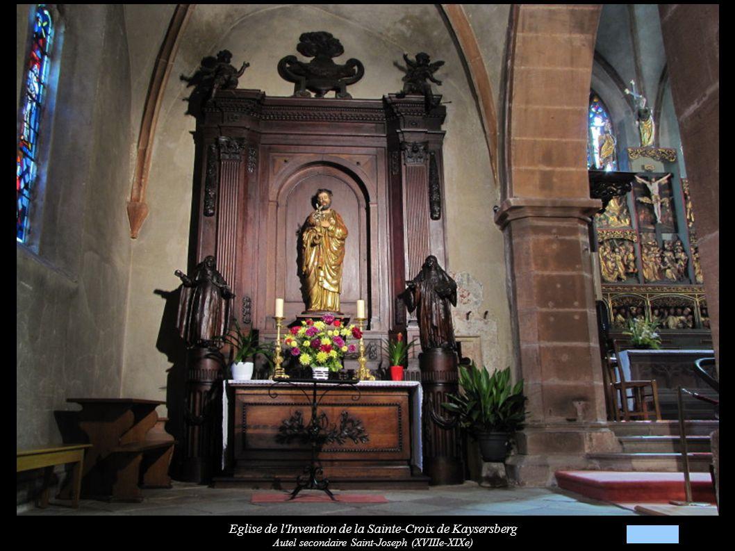 Eglise de l Invention de la Sainte-Croix de Kaysersberg Autel secondaire Saint-Joseph (XVIIIe-XIXe)