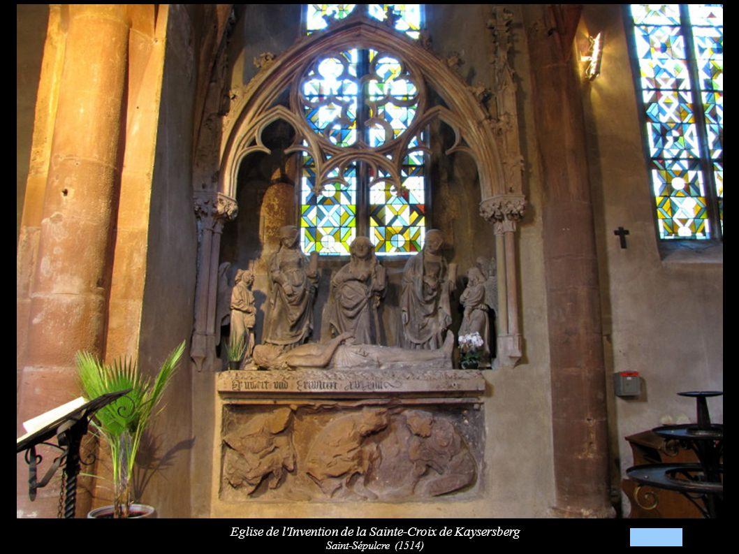 Eglise de l Invention de la Sainte-Croix de Kaysersberg Saint-Sépulcre (1514): Sainte-Femme