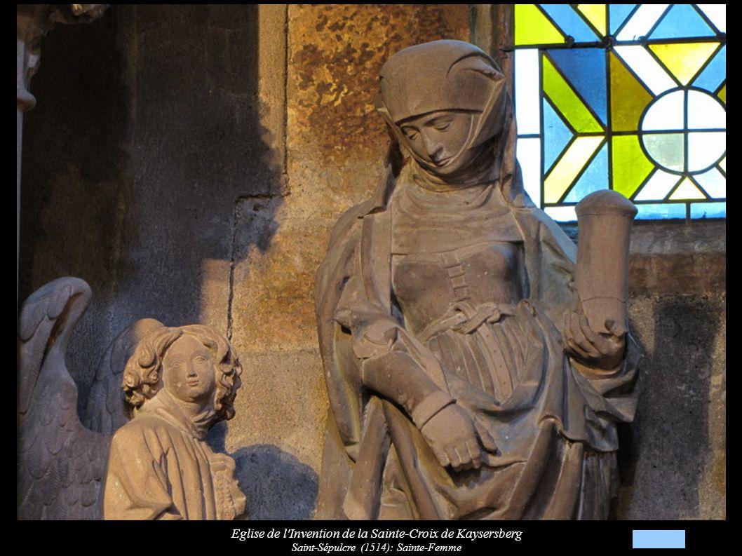 Eglise de l Invention de la Sainte-Croix de Kaysersberg Saint-Sépulcre (1514): Statue de Marie-Madeleine