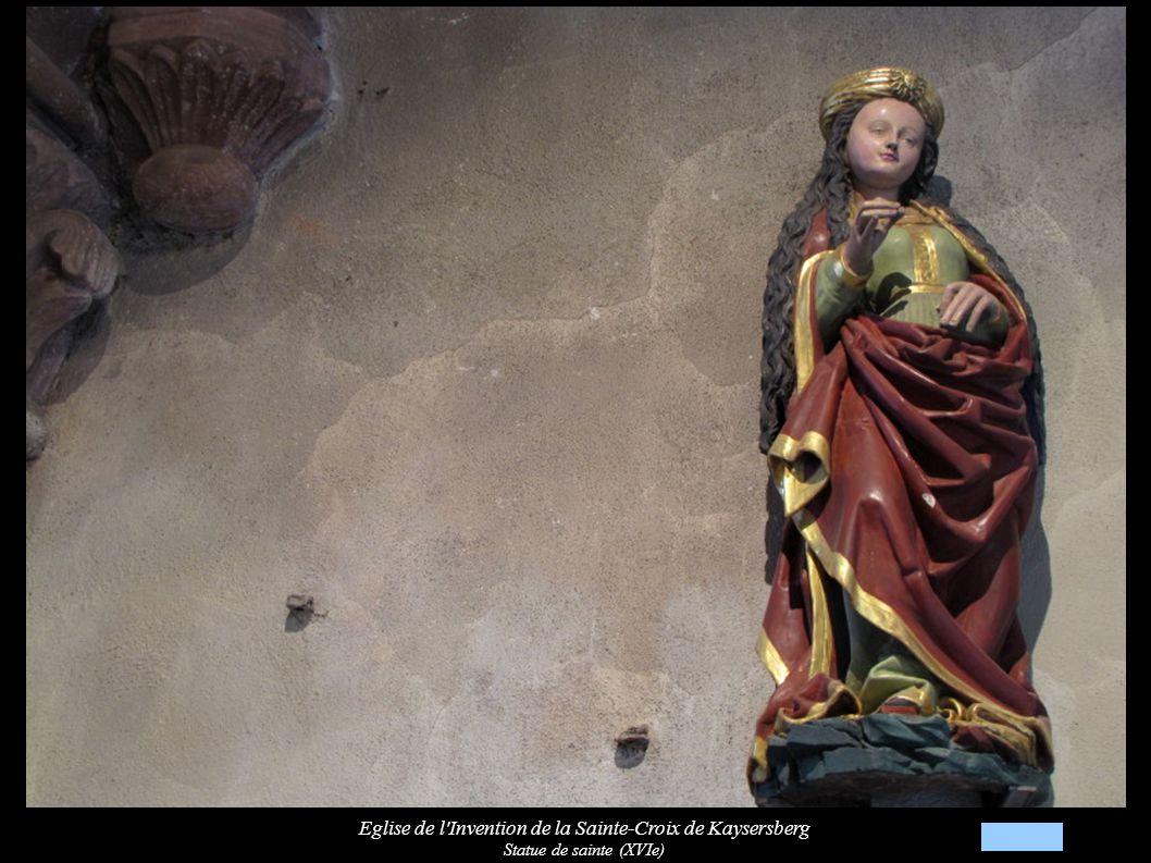 Eglise de l Invention de la Sainte-Croix de Kaysersberg Statue « Marie-Madeleine » (XVIe)
