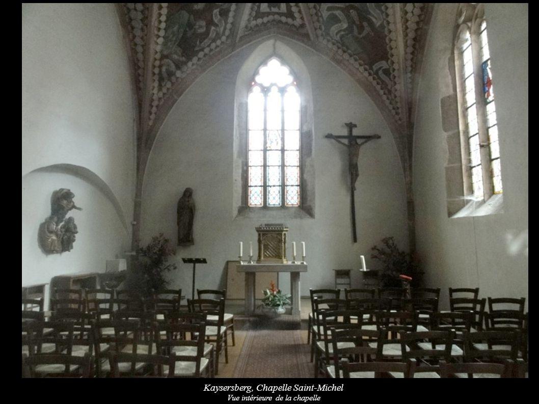 Kaysersberg, Chapelle Saint-Michel Vue intérieure de la chapelle