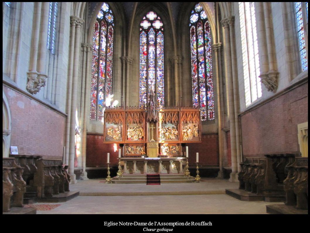 Eglise Notre-Dame de l'Assomption de Rouffach Chœur gothique