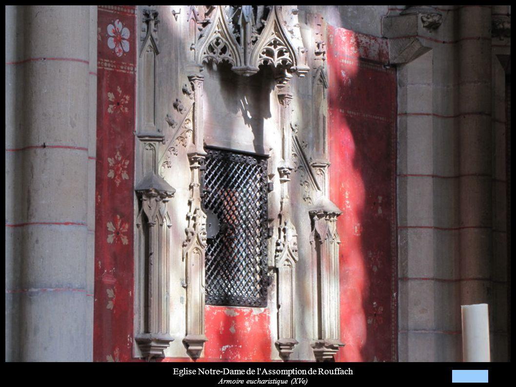 Eglise Notre-Dame de l'Assomption de Rouffach Armoire eucharistique (XVe)