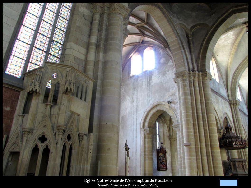 Eglise Notre-Dame de l'Assomption de Rouffach Tourelle latérale de l'ancien jubé (XIIIe)