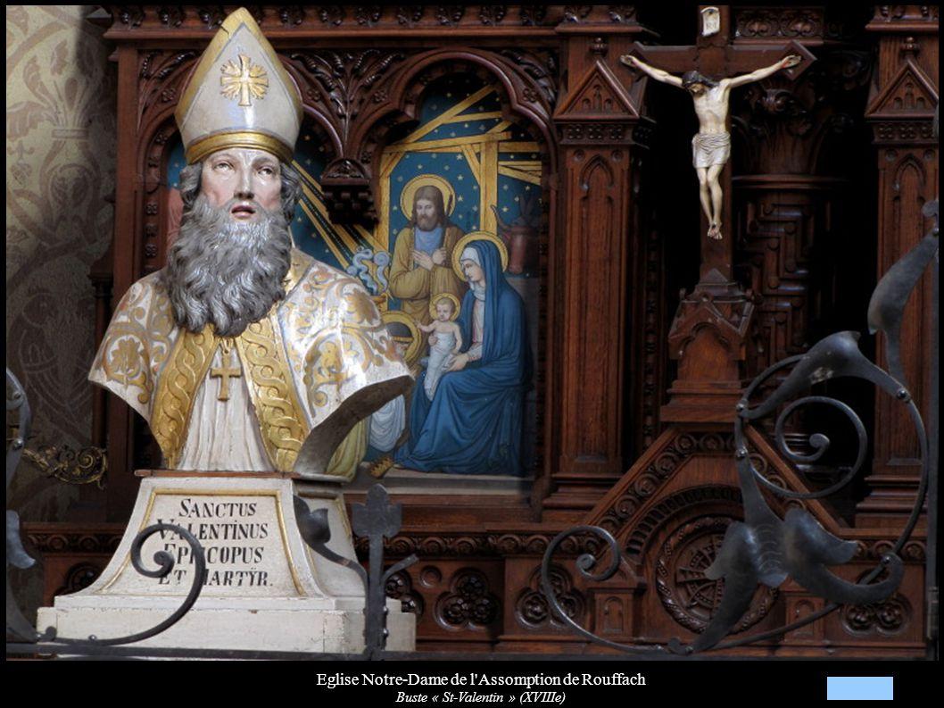 Eglise Notre-Dame de l'Assomption de Rouffach Buste « St-Valentin » (XVIIIe)