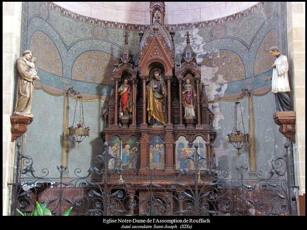 Eglise Notre-Dame de l'Assomption de Rouffach Autel secondaire Saint-Joseph (XIXe)