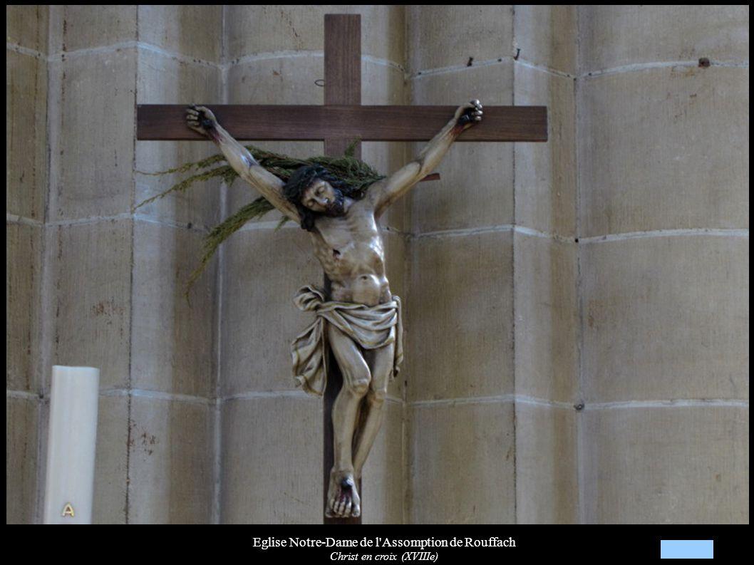 Eglise Notre-Dame de l'Assomption de Rouffach Christ en croix (XVIIIe)