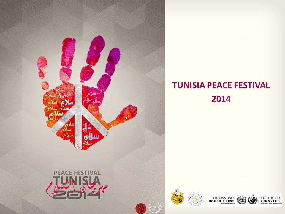 Titre TUNISIA PEACE FESTIVAL 2014