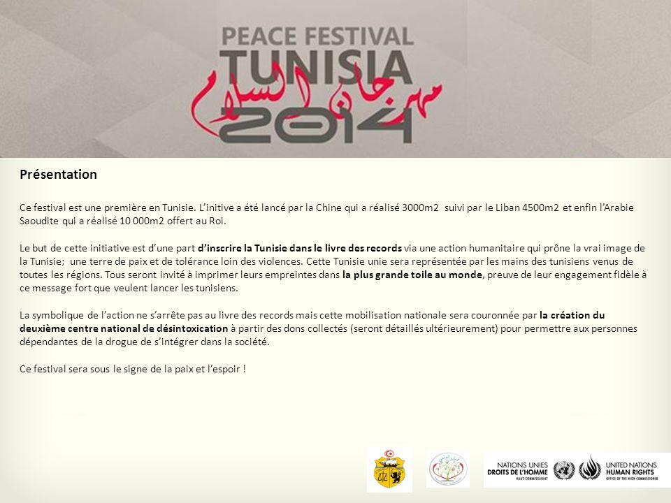 Présentation Ce festival est une première en Tunisie.
