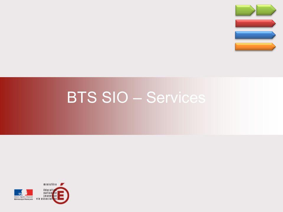 BTS SIO – Services