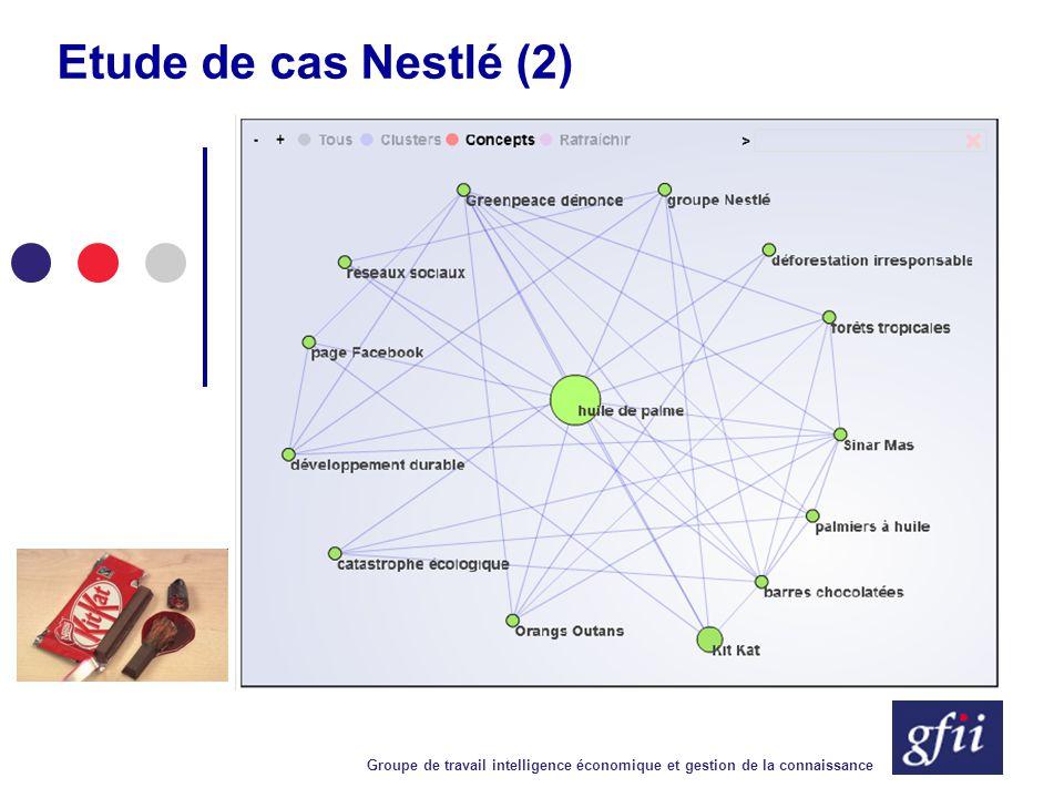Groupe de travail intelligence économique et gestion de la connaissance Contact Groupement Français de l Industrie de l Information 25, rue Claude Tillier 75012 Paris Tél.