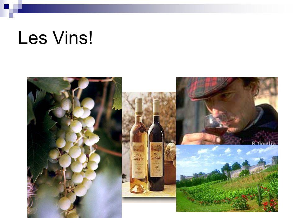 Les Vins!