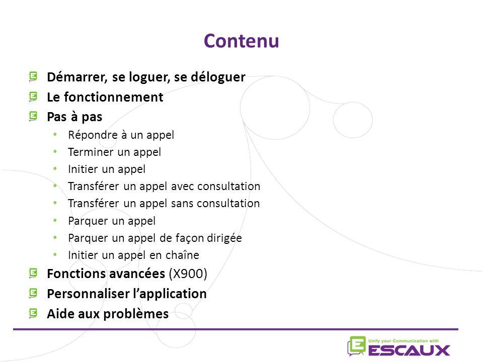 23/06/11 www.escaux.com Préférences générales Selectionner la langue de l'interface Le format du temps dans l'historique de la ligne 1