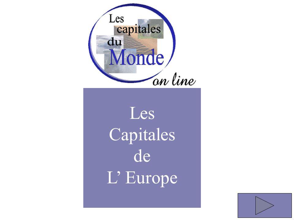 Les Capitales de L' Europe