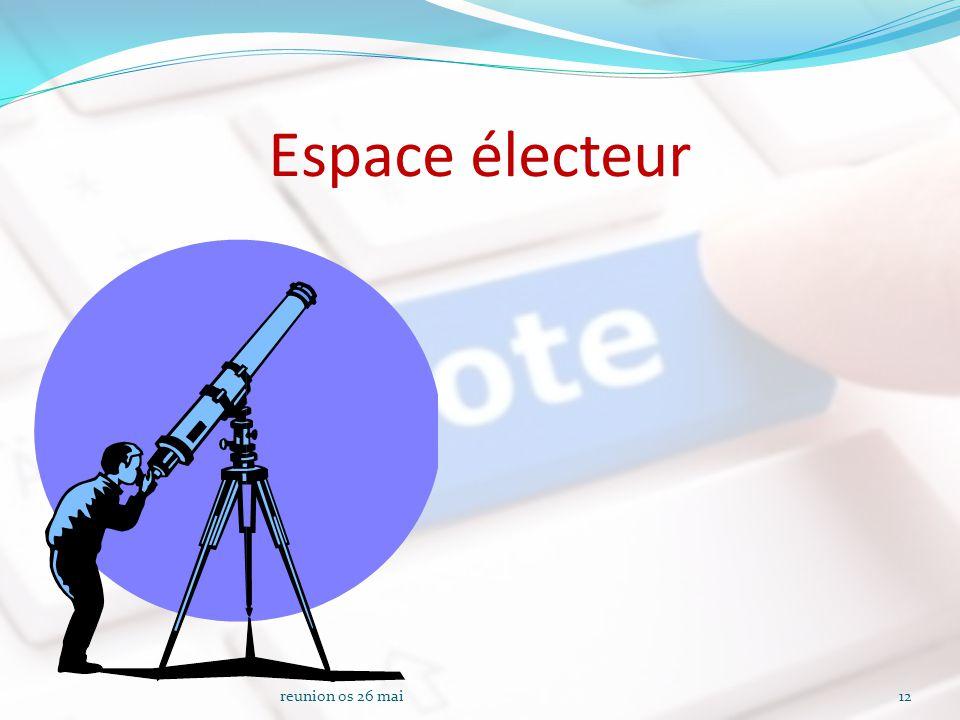 Espace électeur reunion os 26 mai12