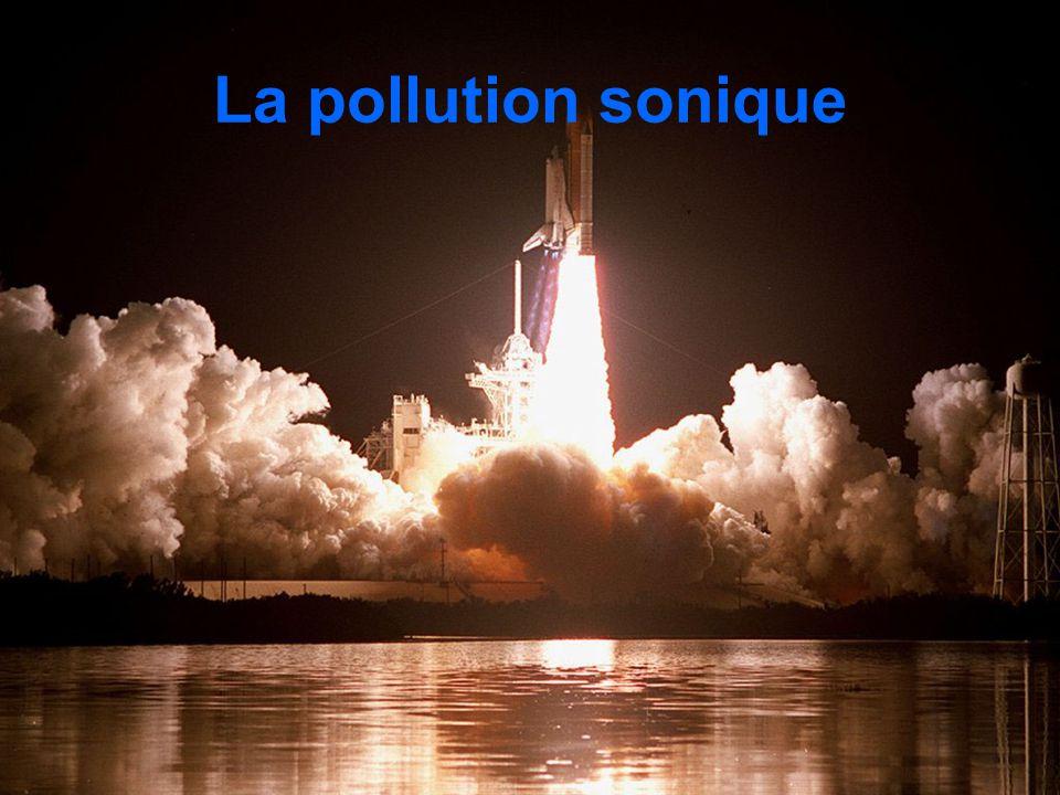 La pollution sonique