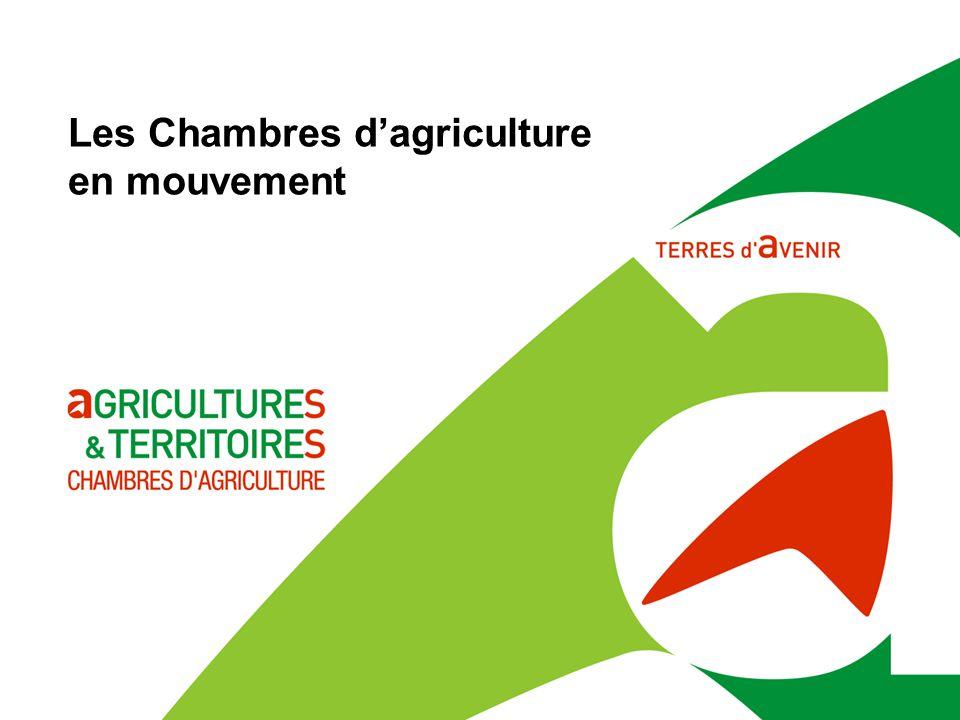 Les Chambres d'agriculture en mouvement